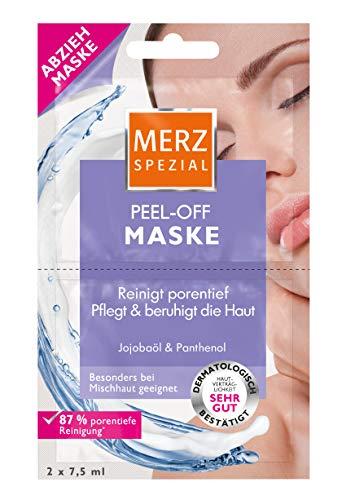 Merz Speciaal slaap je mooi masker hyaluronzuur Merz Speciaal peel-off masker jojoba-olie en panthenol 15 x 15 ml