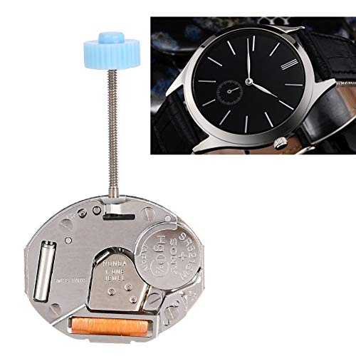 wosume 【𝐒𝐩𝐫𝐢𝐧𝐠 𝐒𝐚𝐥𝐞 𝐆𝐢𝐟𝐭】 with Battery Quartz Watch Parts, Waterproof Super Durable Quartz Movement, for Wacth Repair Watchmakers