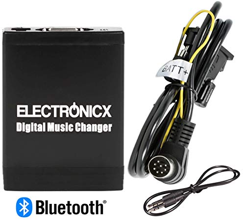 Elec-M06-VOLHU-BT USB, AUX, SD CD-Wechsler Bluetooth Freisprecheinrichtung Musik Adapter für Volvo Autoradio