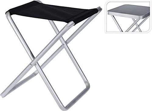Riyashop 2 IN 1 CAMPINGSTUHL Campinghocker Klapphocker Faltstuhl Abnehmbarer Tischplatte