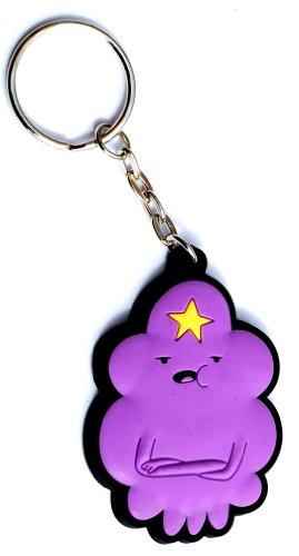 Adventure Time Lumpy Space Princess 3-d Rubber Keychain