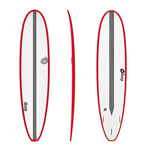 TORQ Epoxy TET CS 8.0 - Tabla de Surf, Color Rojo