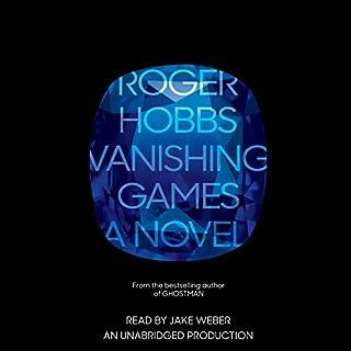 Vanishing Games audiobook cover art