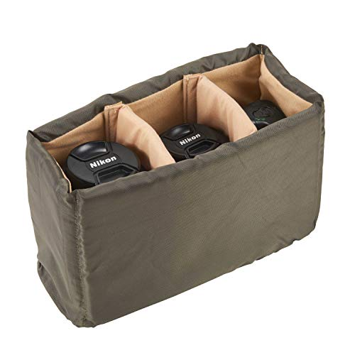 G-raphy DSLR SLR Camera Insert Bag Inner Case Bag for Nikon Sony Canon Panasonic etc, Lenses, Flashes- Make Your Own Camera Bag