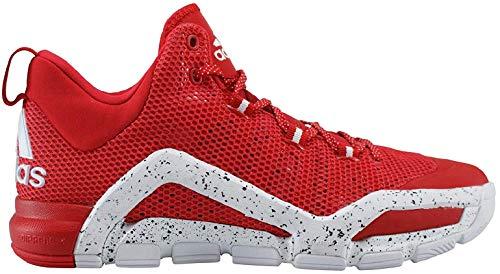 adidas, Scarpe Basket Uomo Rosso Multicolore