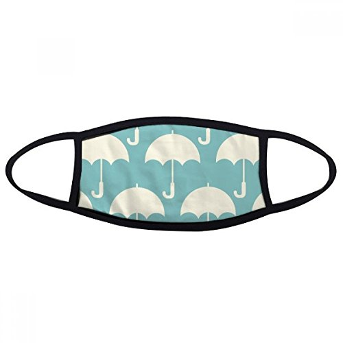 DIYthinker wit paraplu weer patroon mond gezicht anti-stof masker anti-koud warm wasbaar katoen cadeau