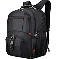 ✈LOTS OF STORAGE & LARGE CAPACITY - This 45L travel backpack has multic independent pockets to store large storage and small item. 3 spacious main compartment, one separate laptop compartment has a protective laptop compartment can hold 17.3 inch lap...
