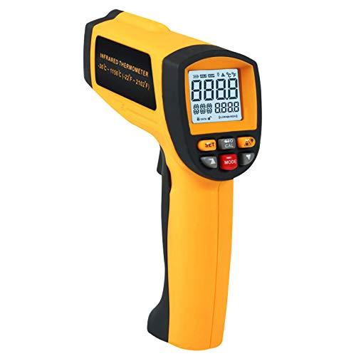 50: 1 Non-contratto di IR Laser A Infrarossi Termometro-30~1150 degC/-22~2102 degF Digitale instant professionale di Leggere 0.1~1EM Pirometro