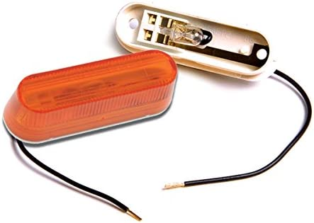 Amber Thin Line Single Bulb Marker Clearance Ranking TOP13 Light Repla Trailer Max 47% OFF