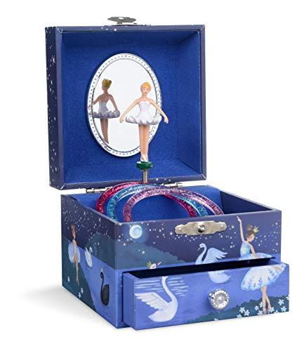 portagioie thun JewelKeeper - Carillon portagioielli per Bambina con Ballerina Rotante