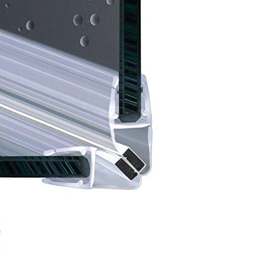 200cm EC-214 Angolo 90° Guarnizione magnetica Box Doccia per vetri di spessore da 6 e 8 mm