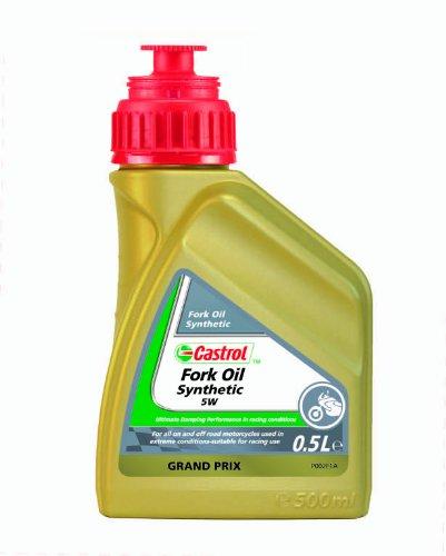 Castrol Spezialitäten Motorrad Fork Oil Synthetic SAE 5W - 500mL Flasche