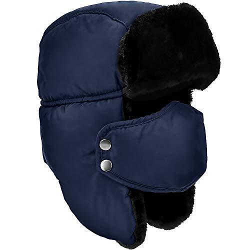 Unisex de la aleta del oído del invierno, Trapper, Trapper, Bombardero Sombrero,...