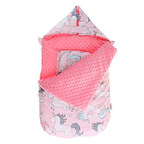 SM SunniMix Saco de Dormir de Algodón Suave Bolsa de Descansa para Bebé - B