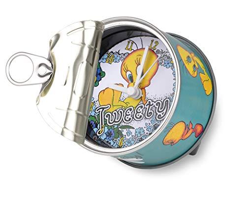 my clock MyClock Reloj de Mesa Magnético, Personalizable, Regalo Original con Foto, Marco de Fotos, DIY - Tweety