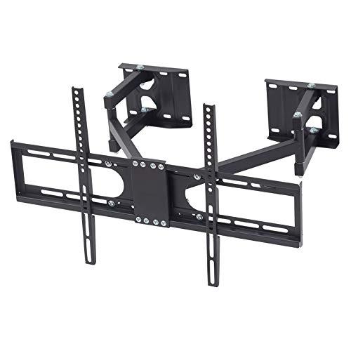 """TV Wandhalterung Eckmontage, Schwenkbar Neigbar für LED LCD Plasma Fernseher von 32\"""" - 65\"""" Max 45Kg VESA 600x400"""