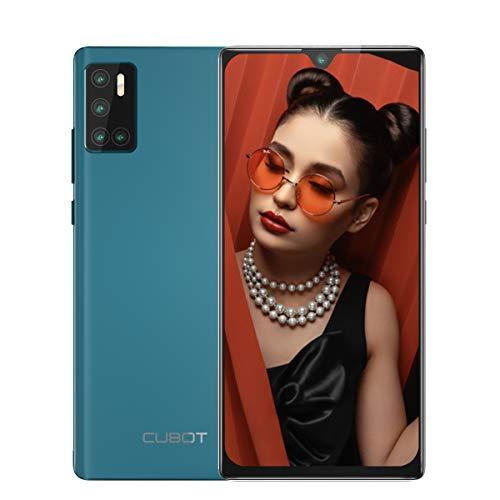mächtig CUBOT P40 Handy ohne Vertrag, Dual-SIM-Smartphone 4 GB RAM + 128 GB ROM Android 10.0 6.2 ″…