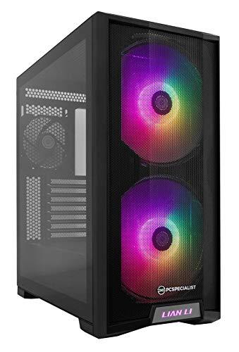 PCSpecialist Pro PC Gaming - AMD Ryzen 7 3700X 4,40 GHz 8-Core, 16 GB RAM, 8 GB GEFORCE RTX 3070 Ti, 1 TB M.2 SSD