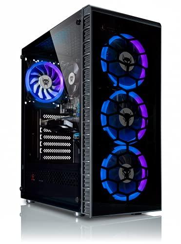 BEASTCOM Q3 | Essential Gaming PC | Gamer Computer | AMD Hexacore 6X 3.80Ghz | 8GB RAM | 256GB SSD | GeForce GT 1030 2GB GDDR5 | HDMI | WLAN | Windows 10
