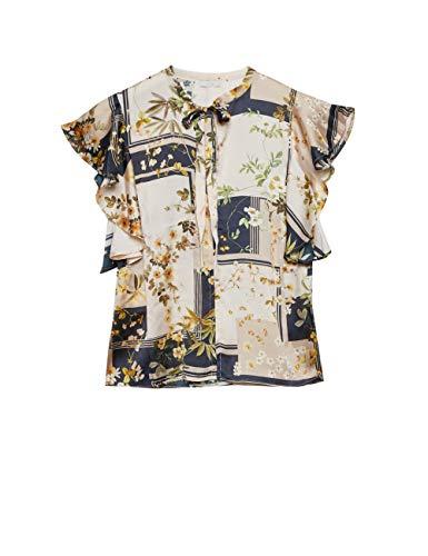 Bovendien: blouse bedrukt (Italiaanse grootte)