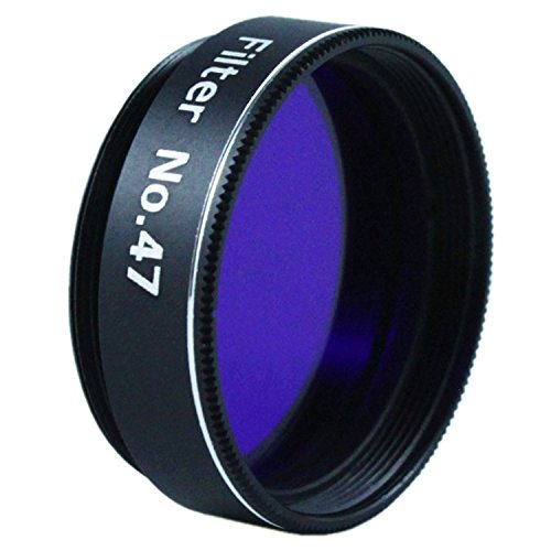 "Astromania 1.25"" Color/Planetary Filter for Telescope - #47 Dark Blue"