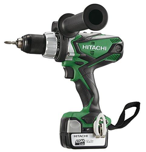 Hitachi DV14DSDL (4,0 boorschroevendraaier met lithium, 4,4 V, 4,0 Ah, 14,4 V