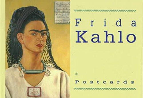 Frida Kahlo Postcard Book