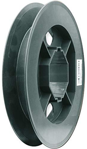 Schellenberg 11700 Gurtscheibe MAXI für 60 mm Achtkantwellen Durchmesser der Scheibe 17 cm, passend zu 23 mm Gurtbreite