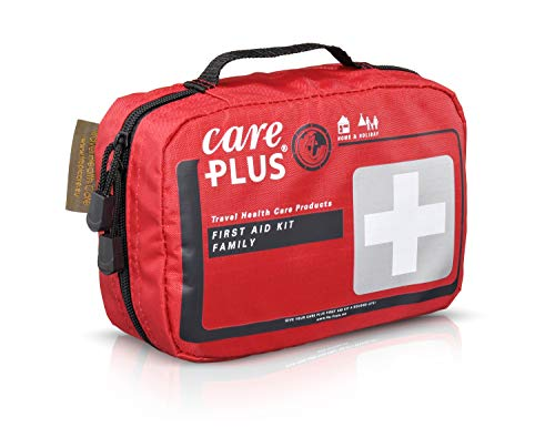 Care Plus Verbanskasten First Aid Kit - Family, rot, One Size, 38325