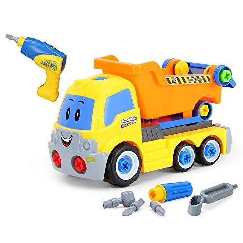 Take Dright Juguetes, Aeroplano Toy Train Toy for Toddlers Learning Ideal Educational Construction Tool Engineering Conjunto con herramientas de tornillo Gran regalo for niños niños niñas de 3 años de