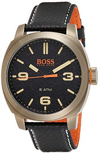 Hugo Boss Orange Reloj Analógico para Hombre de Cuarzo con Correa en Cuero 1513409