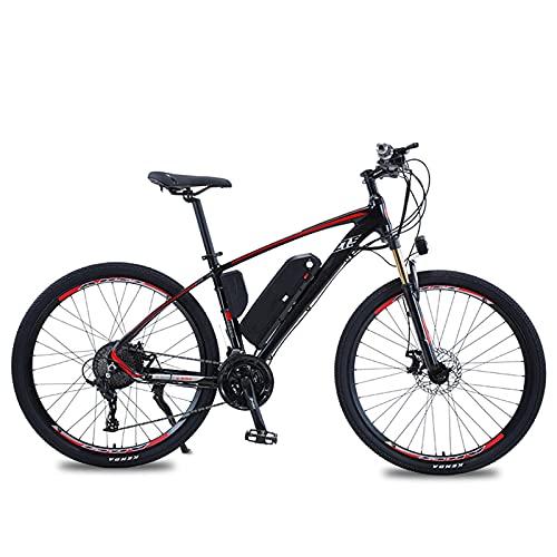 Clouds Bicicleta eléctrica, Bicicleta de montaña eléctrica de 26'con batería de Iones de Litio extraíble de 13 Ah, Bicicleta eléctrica de 48 V 500 W, Bicicleta eléctrica para Adultos