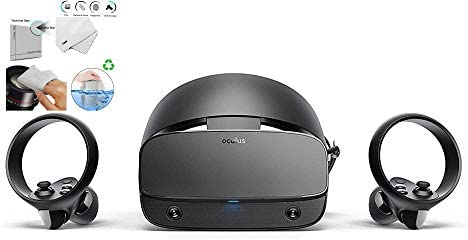 Oculus Rift S PC Powered VR Gaming Headset Two Touch Controller 3D Positional Audio Insight product image
