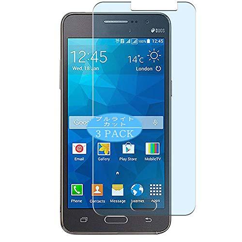 VacFun 3 Piezas Filtro Luz Azul Protector de Pantalla, compatible con Samsung Galaxy Grand Prime Duos TV G530BT, Screen Protector Película Protectora(Not Cristal Templado) NEW Version