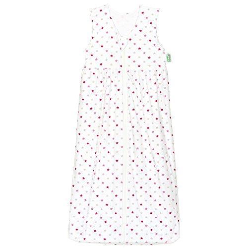 Odenwälder 1342-1305 Gr. 90cm Jersey-Schlafsack Anni weiß-pink