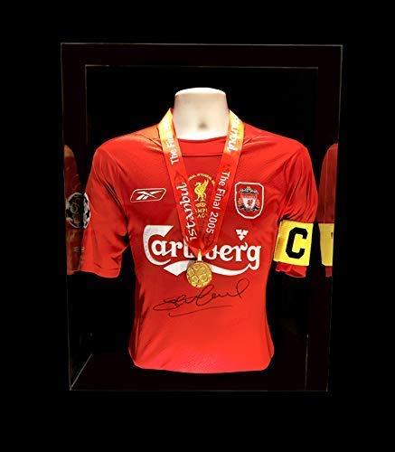 Steven Gerrard Liverpool Champions League Finale Trikot Istanbul und Gewinner Medaille handsigniert