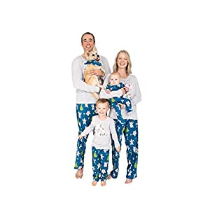 Nite Nite Munki Munki Unisex Family Matching Winter Holiday Pajama Collection, Polar Bears