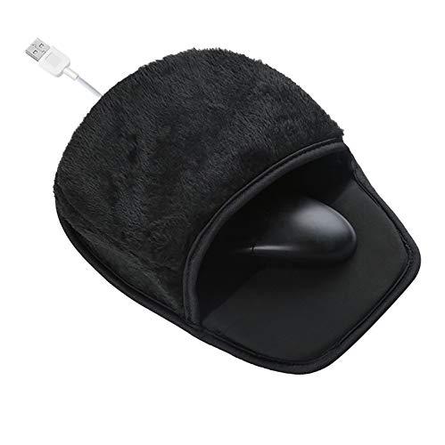 Inyear Alfombrilla de ratón con USB y calentador de manos, almohadilla caliente...