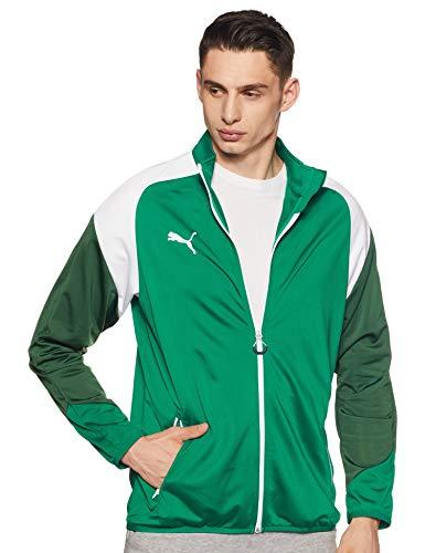 PUMA Herren Esito 4 Poly Tricot Jacket Jacke, Power Green White-Dark Green, M