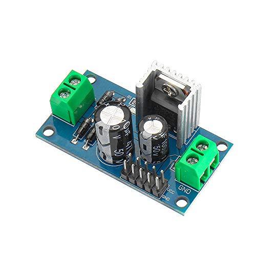 MING-MCZ Duradero LM7809 DC/AC 12-24V de Salida de 9V CC Tres Terminal Regulador de Voltaje de Fuente de alimentación De Bajada Módulo 1.2A 3pcs Fácil de Montar