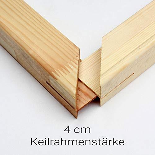 Generisch Keilrahmen Bausatz 4 cm Holzleisten Set selbst zusammenbauen ohne Leinwand Verschiedene Größen bestellbar (Leisten 4cm, 60x90)