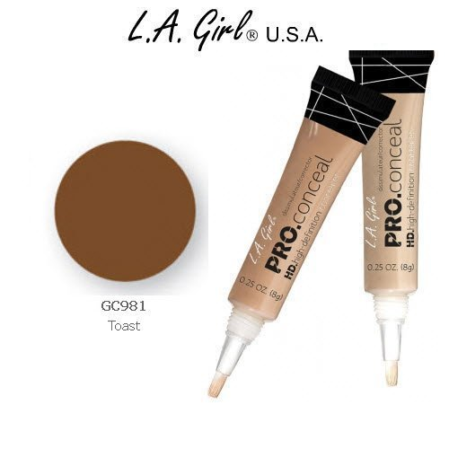 L.A. Girl Pro Conceal HD 981 Toast (2 Pack) by L.A. Girl