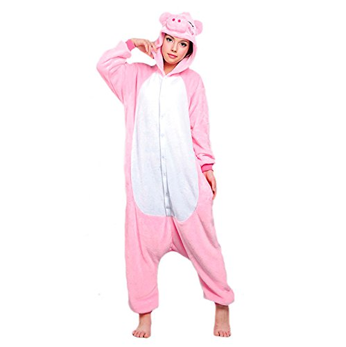 Disfraz Cerdo adulto Pijama Kigurumi