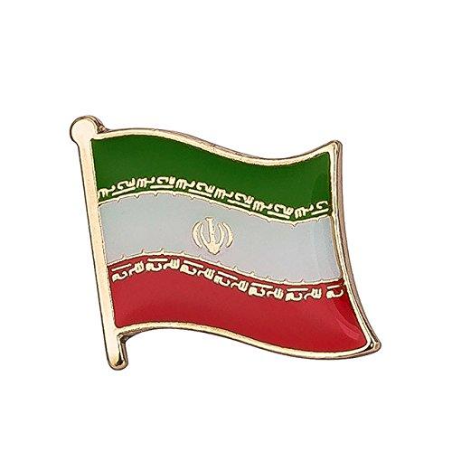 Iran Iranische Flagge Metall Button...
