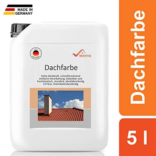 BEKATEQ Dachbeschichtung BE-510 seidenmatt -Dunkelrot - 5L