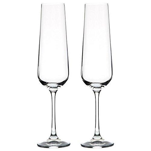 VANILLA SEASON Bohemia Cristal WANGI - Copas de champán (2 unidades)