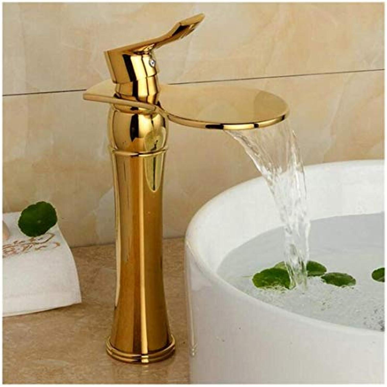 Wasserhahn Küche Bad Garten Waschtisch-Mischbatterie Bad Becken Wasserhahn Messing Mischbatterie Ctzl2157