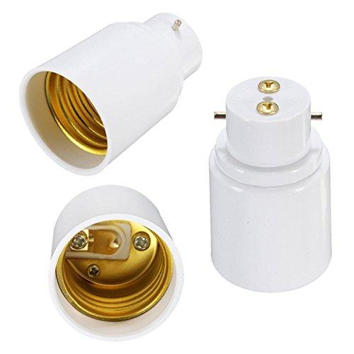 MASUNN B22 À E27 Vis Douille LED Halogène Ampoule Adaptateur Convertisseur