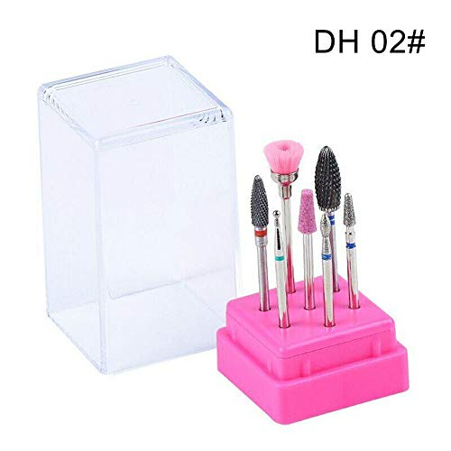 Professionele keramische Clean Boor Nagel Carbide voor Links Rechts Nagel Salon Manicure DH02