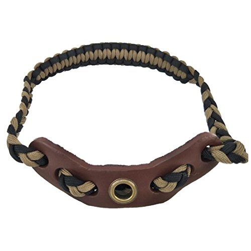 HRCHCG Archery Bow Sling Compound Bow Crossbow Wrist Sling Band Strap Hunting Wrist Sling Shooting Target Outdoor Accessory Adjustable